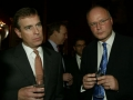 Peter Lindsay with Prince Andrew