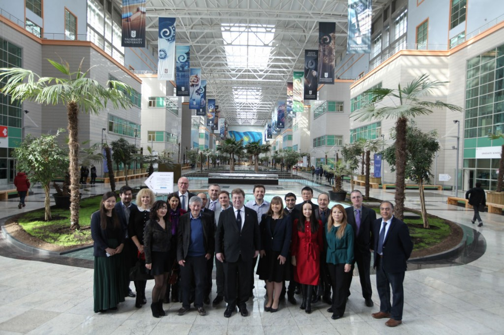 Peter visits Nazarbaev University